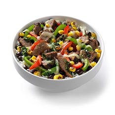 Evol Fire Grilled Steak Bowls with Guacamole (10 oz., 4 ct.)
