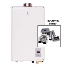 Eccotemp 45HI 6.8 GPM Indoor Liquid Propane Tankless Water Heater with Horizontal Vent Kit