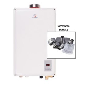 Eccotemp 45HI 6.8 GPM Indoor Liquid Propane Tankless Water Heater with Vertical Vent Kit