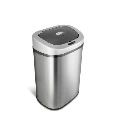 Nine Stars Sensor Trash Can, Stainless Steel (21.1 gal)