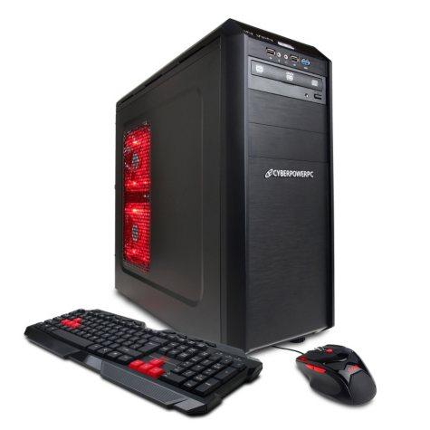 CyberPowerPC Gamer Xtreme GXI480 Desktop Computer, Intel Core i5-4430, 8GB Memory, 1TB Hard Drive