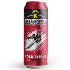 Kettle House Cold Smoke Scotch Ale (16 fl. oz. can, 8 pk.)