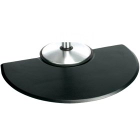 Polyurethane Salon Styling Half-Circle Mat