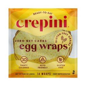 Crepini Gluten-Free Egg Wraps (14 ct.)