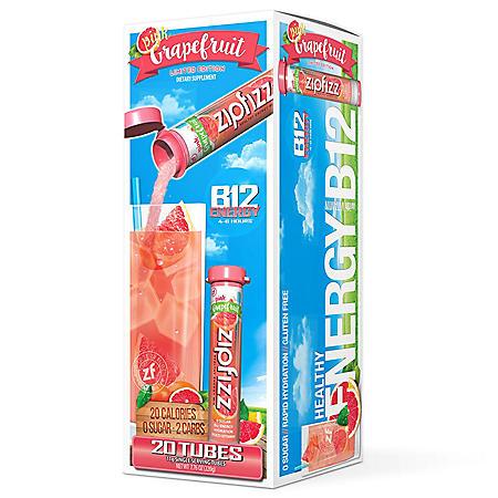 Zipfizz® Energy Drink Mix, Pink Grapefruit (20 ct)