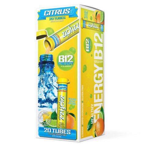 Zipfizz Energy/Sports Drink Mix - Berry Energy (20 ct.)