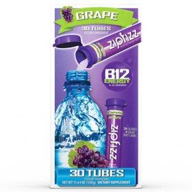 Zipfizz Energy Drink Mix, Grape (30 ct.)