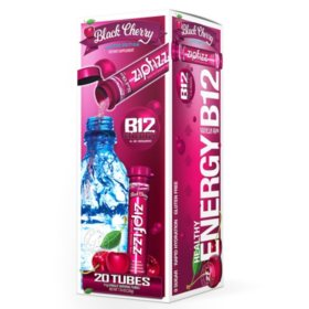 Zipfizz Energy Drink Mix, Black Cherry (20 ct.)