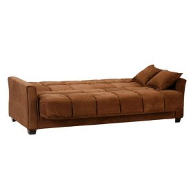 Tremendous Baja Futon Sofa Sleeper Dark Brown Sams Club Creativecarmelina Interior Chair Design Creativecarmelinacom