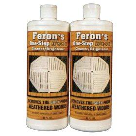 Feron's Wood Cleaner/Brightener - 2 quarts