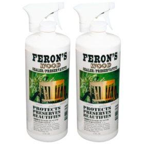 Feron's Wood Sealer/Preservative - 2 quarts