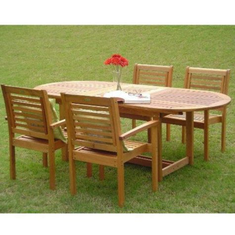 Rio Outdoor/Indoor Dining Set - 5 pc.