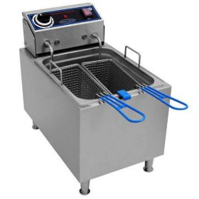 Commercial Pro Countertop Electric Fryer - 16 lbs.