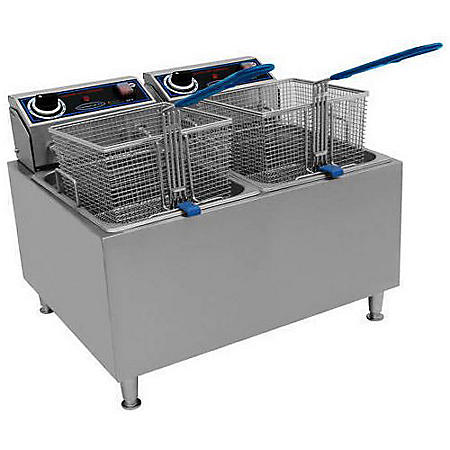 Commercial Pro Countertop Electric Fryer - 32 lbs.