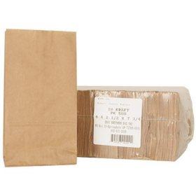 Duro Bag #2 Kraft Paper Bags (500ct.)