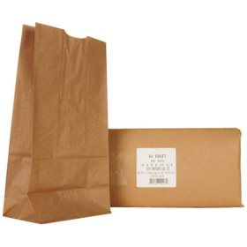 Member's Mark 8# Kraft Paper Bags (500 ct.)