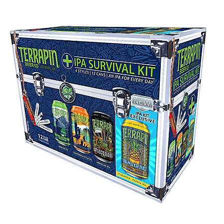 Terrapin IPA Survival Kit (12 fl. oz. can, 12 pk.)