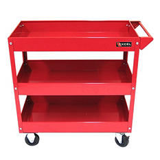 Excel Steel Tool Cart - Multiple Colors