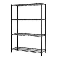 "Excel Multi-Purpose 4-Level Wire Shelving (48""W x 18""D x 60""H)"