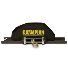 Champion Power Equipment Neoprene Winch Cover Fits 8,000lb - 12,000lb