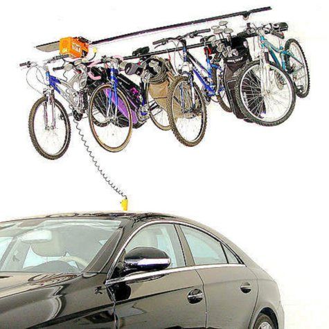 Garage Gator Motorized Storage Hoist - 220 lb Capacity