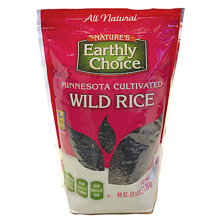 Nature's Earthly Choice Wild Rice - 48 oz.
