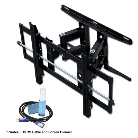 "Ready Set Mount Full Motion Wall Mount Bundle - 26"" to 55"""