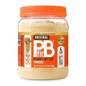 PBfit All-Natural Gluten-Free Peanut Butter Powder (30 oz.)