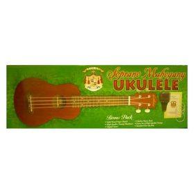 Soprano Mahogany Ukulele Bonus Pack