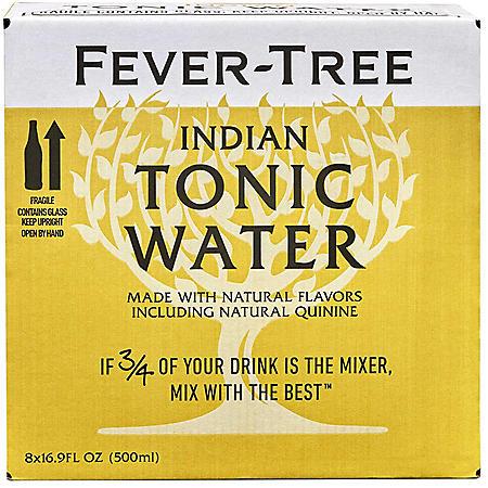 Fever-Tree Premium Indian Tonic Water (19.9 fl. oz. bottle, 8 pk.)