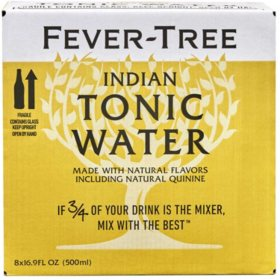 Fever-Tree Premium Indian Tonic Water (19.9 fl. oz. bottle, 8 pk.)