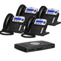 XBlue X16 with Charcoal 4 Phones & Server