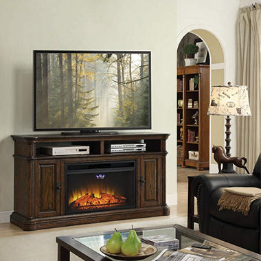 Buy Dawson Electric Fireplace and Media Entertainment Mantel GoldenDataSetTest : Fireplaces at SamsClub.com