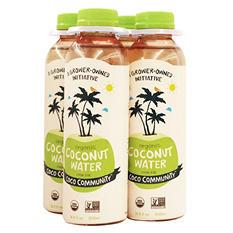 Coco Community Organic Coconut Water (500 ml bottles, 4 pk.)