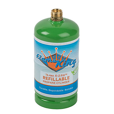 1-lb. Refillable Propane Cylinder, 16.4 oz. (ships empty)