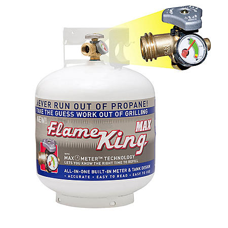 Flame King 20-lb  Propane Cylinder with Overfill Protection
