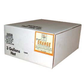 Willtec Diet Orange Syrup Concentrate (3Gal)
