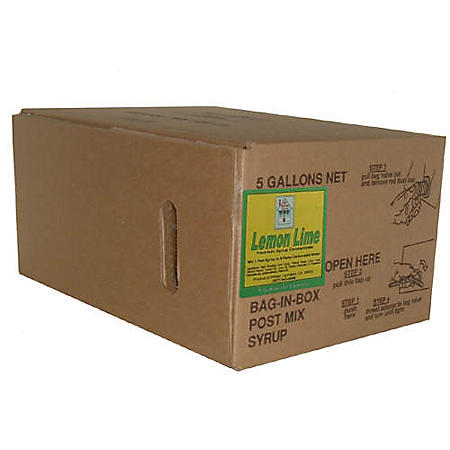 Willtec Lemon Lime Syrup Concentrate (5Gal)