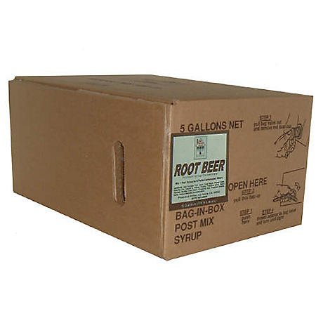 Willtec Root Beer Soda Syrup Concetrate (5Gal)