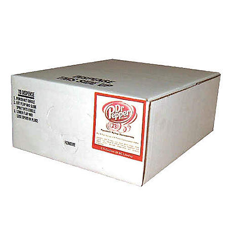 Willtec Dr Pepper Soda Syrup Concentrate (2.5Gal)
