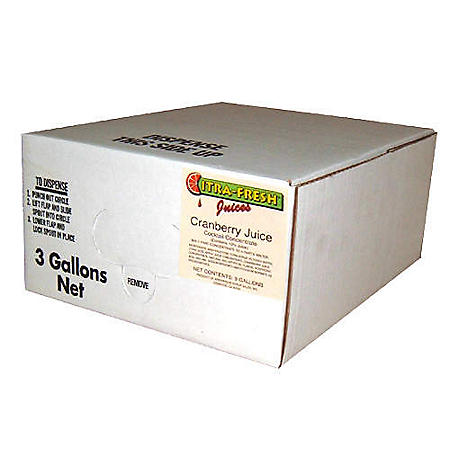 Willtec Cranberry Juice Cocktail Concentrate (3Gal)