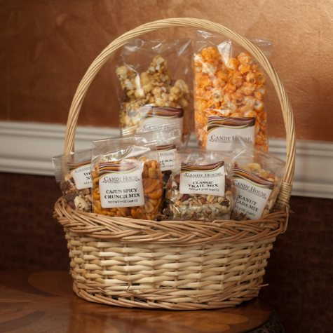 Candy House Munchies Basket - Pallet of 36