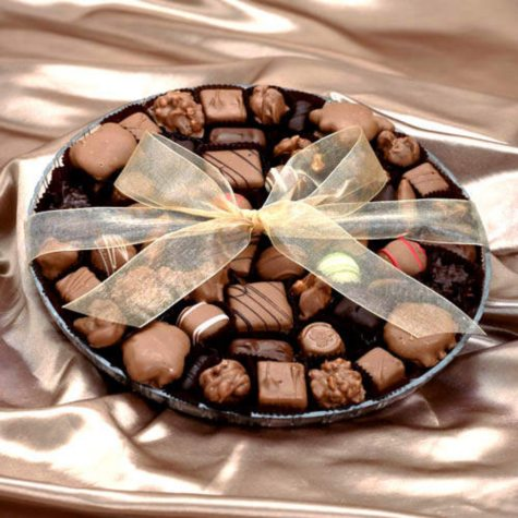 Candy House Deluxe Chocolate Party Tray