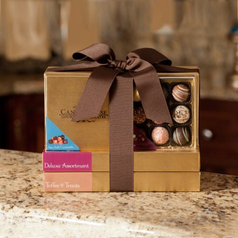 """Candy House """"Exquisite"""" Tower of Gourmet Chocolates"""