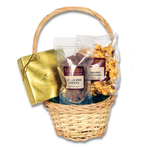 """Candy House """"Divine"""" Basket of Chocolates"""