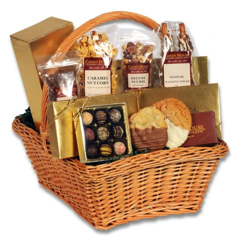 "Candy House ""Delectable"" Basket of Chocolates"