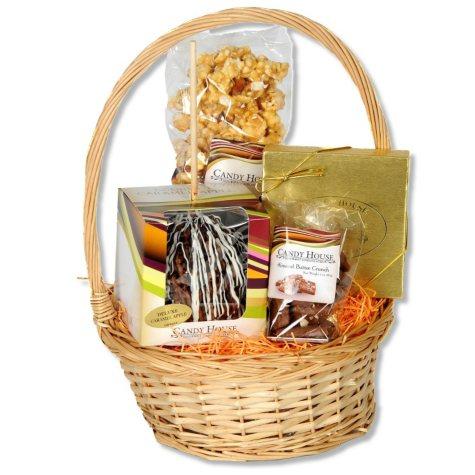 Candy House Caramel Apple Harvest Basket