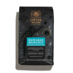 Copper Moon World Coffee, Hawaiian Hazelnut (40 oz.)