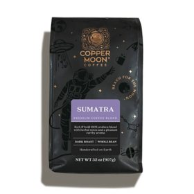 Copper Moon Coffee Whole Bean Blend, Sumatra (32 oz.)