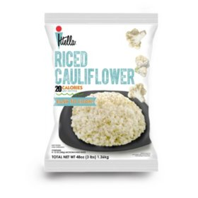Itella Riced Cauliflower (12 oz. bags, 4 ct.)